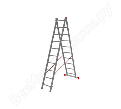 Двухсекционная лестница VIRA 2х10 600210