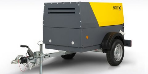 Компрессоры передвижные PORTA 3 с производительностью 3 м3/мин