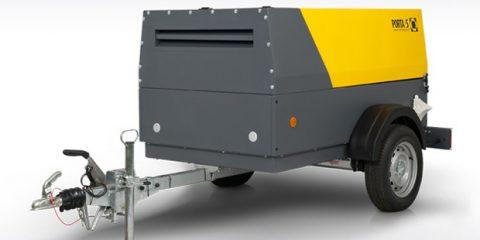 Компрессоры передвижные PORTA 5 с производительностью 5 м3/мин