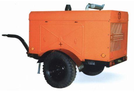 Передвижной дизельный компрессор ЗИФ ПВ 51,0