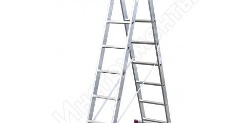 Универсальная лестница 2х8 Krause Corda 010285