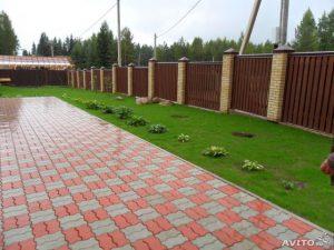 Укладка тротуарной плитки в Алматы.
