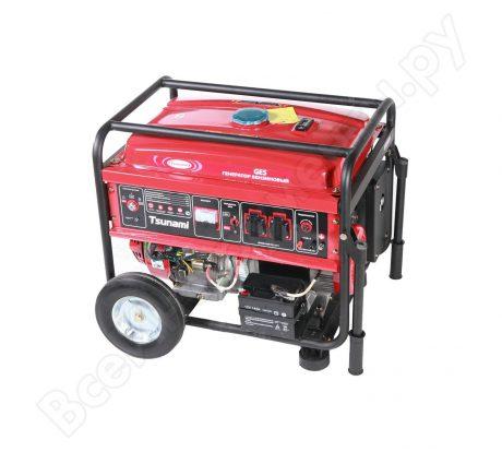 Бензиновый генератор Tsunami GES 5500E I1261SGRE5000D0 прокат