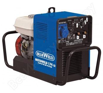 Инверторный сварочный генератор BLUE WELD MOTOWELD 174 CE 815809 аренда