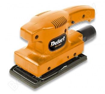 Вибрационная шлифовальная машина DEFORT DFS-135N 93720629