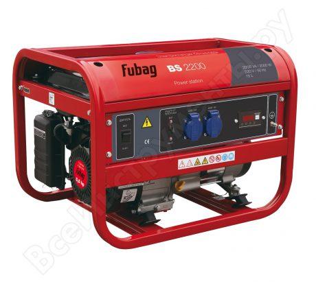 Бензиновый электрогенератор Fubag BS 2200 на прокат