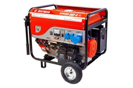 Бензиновый генератор BESTWELD GENERAL 6GF-4 на прокат