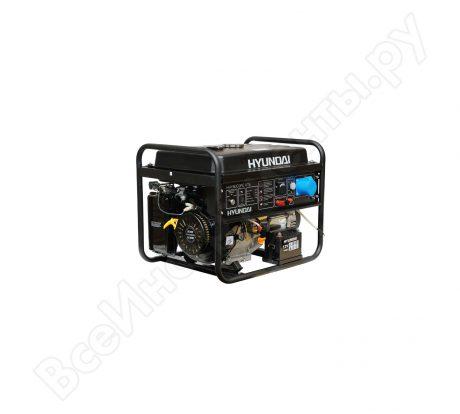 Бензиновый генератор Hyundai HHY9000FE ATS на прокат
