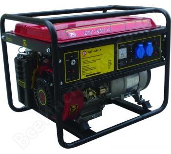 Бензиновый генератор Калибр БЭГ-6511 А 00000044881 на прокат