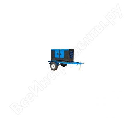 Дизельная генераторная установка в кожухе на шасси ТСС ДГУ ЭД-10С-Т400-1РПМ13 Lester 112378 на прокат