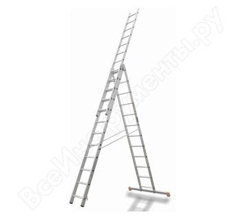 Трехсекционная лестница Эйфель Премьер 3х16 И в аренду