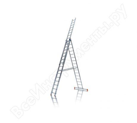 Трехсекционная монтажная лестница Эйфель ТЛ 3х16 И на прокат