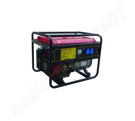 прокат Бензиновый генератор Калибр БЭГ-4511 00000044621