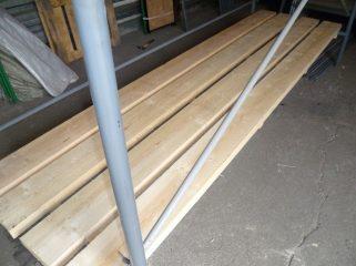 Настилы (трапы) деревянные для строительных лесов.