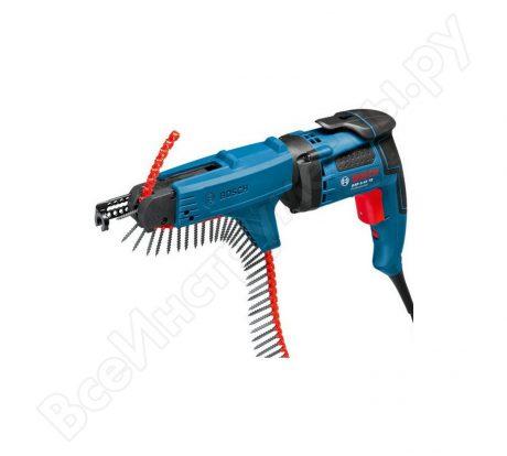 Ленточный шуруповерт Bosch GSR 6-45 TE + MA 55 Professional 0.601.445.101 на прокат