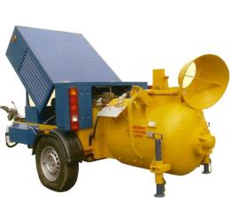 Пневмонагнетатель СО-243 с дизельным винтовым компрессором на прокат