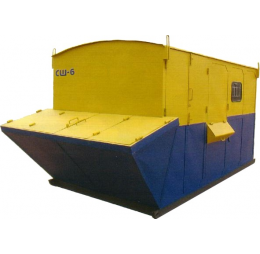 Штукатурная станция РЗСМ СШ-6 с СО-50АМ с водяным баком на прокат