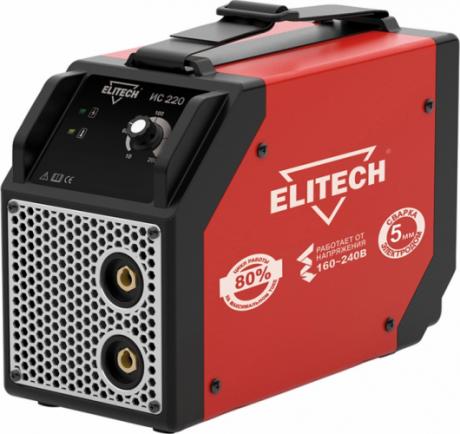 Сварочный инвертор ELITECH ИС 220 на прокат