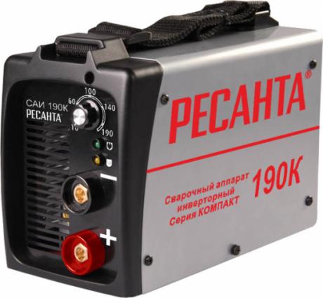 Сварочный инвертор РЕСАНТА САИ 190 К на прокат