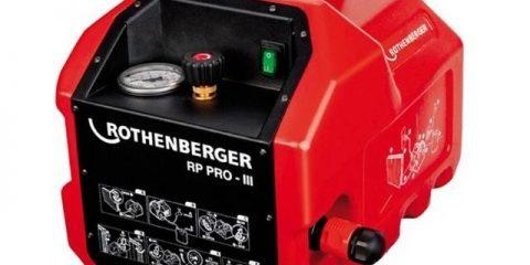 аренда опрессовочный насос электрический Rothenberger RP PRO-3