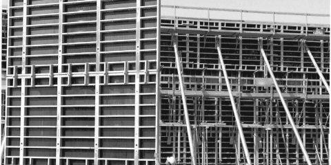 Аренда стеновая опалубка стальная Hunnebeck Rasto