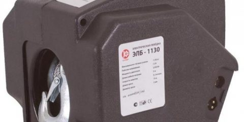 Аренда электрическая лебёдка Калибр ЭЛБ-1130