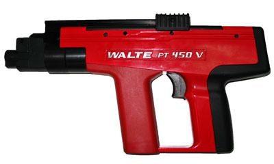 Арендастроительный пороховой пистолет PT 450V