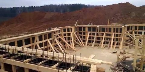 Аренда деревянная опалубка для фундамента Пери