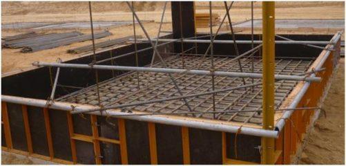Аренда фундаментной металлической опалубки Прима