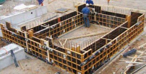 Аренда металлической опалубки для фундамента ПСК