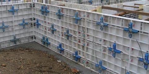 Аренда пластиковой стеновой опалубки MAXIMO