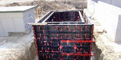 Аренда стеновой пластиковой опалубки GeoPlast