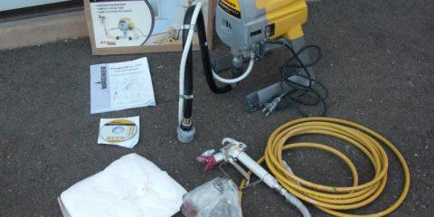 Аренда электрический краскораспылитель Wagner ProjectPro117