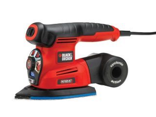 шлифмашина Black&Decker Autoselect Cyclonic KA280K