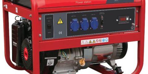 Арендабензиновый генератор Fubag BS 5500