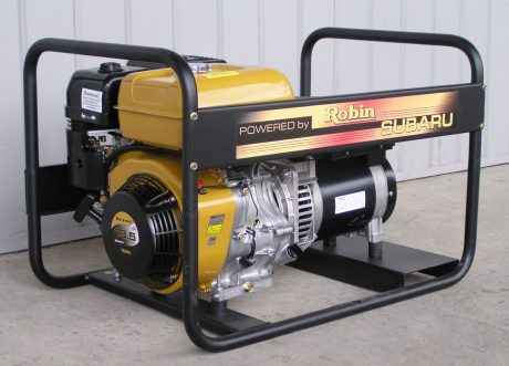 Арендабензиновый генератор Subaru EB 13.5-400-SLE