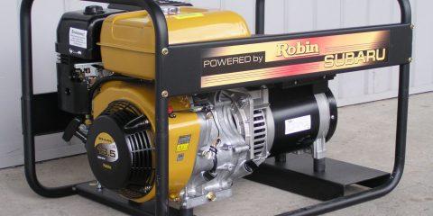 Арендабензиновый генератор Subaru EB 13.5/400-SLE