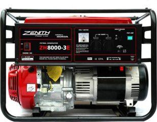 Арендабензиновый генератор Zenith ZH 15000 3DXE