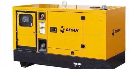 Арендадизельный генератор Gesan QIS 25
