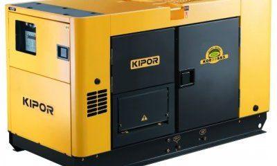 Арендадизельный генератор KIPOR KDE35SS3