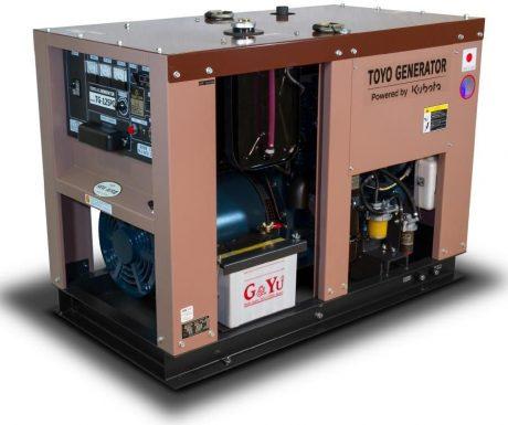 Арендадизельный генератор TOYO TG-30 SPC