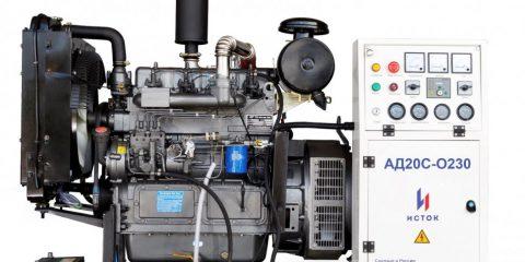 Арендадизельная электростанция Исток АД20С-О230-РМ21