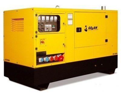 Арендадизельный генератор Gesan DPAS 90E