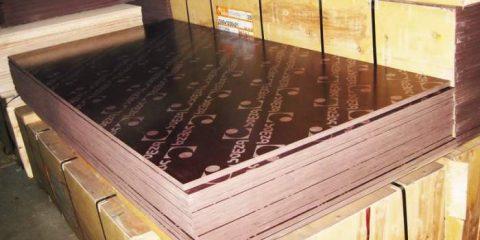 Арендафанера ламинированная 2440х1200х18 мм