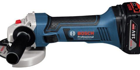 Арендааккумуляторная болгарка Bosch GWS 18 V-LI