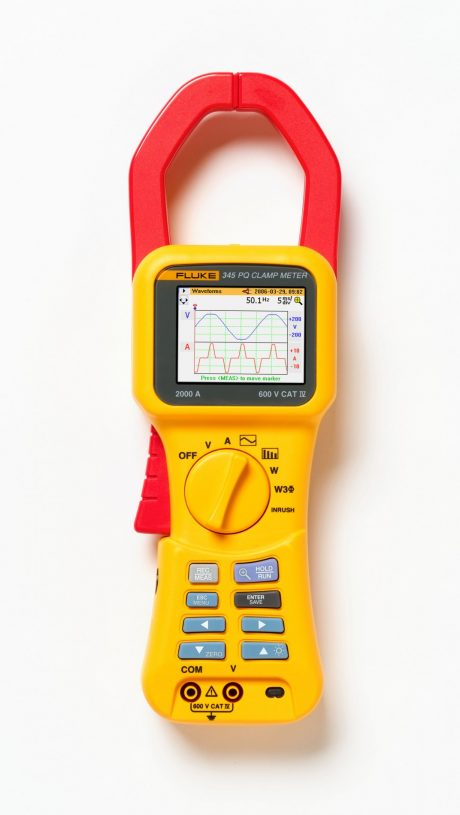 Арендаанализатора качества электроэнергии Fluke 345